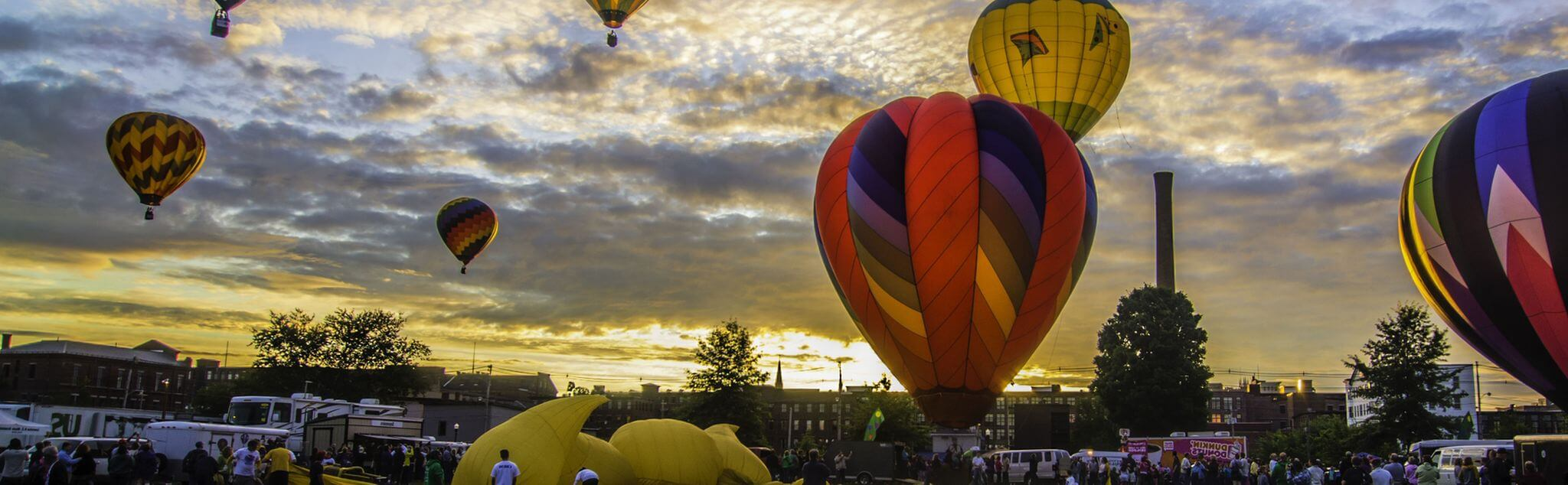 Ballooning in Ciudad Real (City)