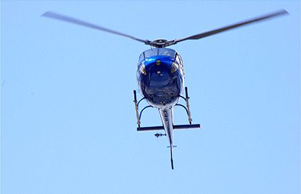 Paseo en Helicóptero en España