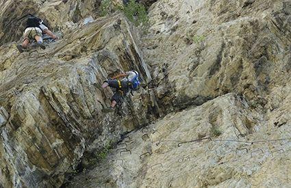 Vía Ferrata en Jaén