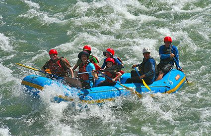 Rafting en Murcia
