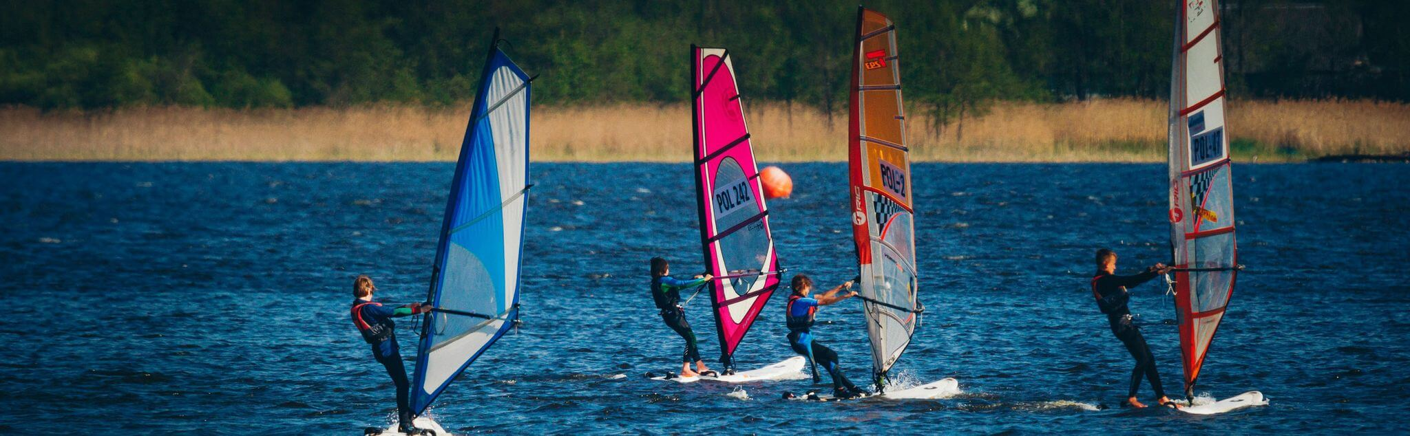 Windsurfing in Pals
