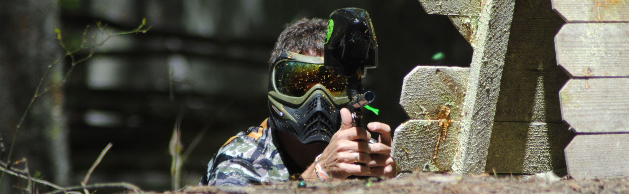 Paintball in Noja