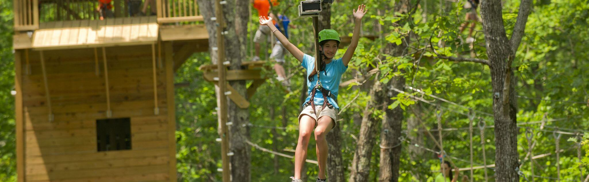 High Ropes in Lamiña (Ruente)