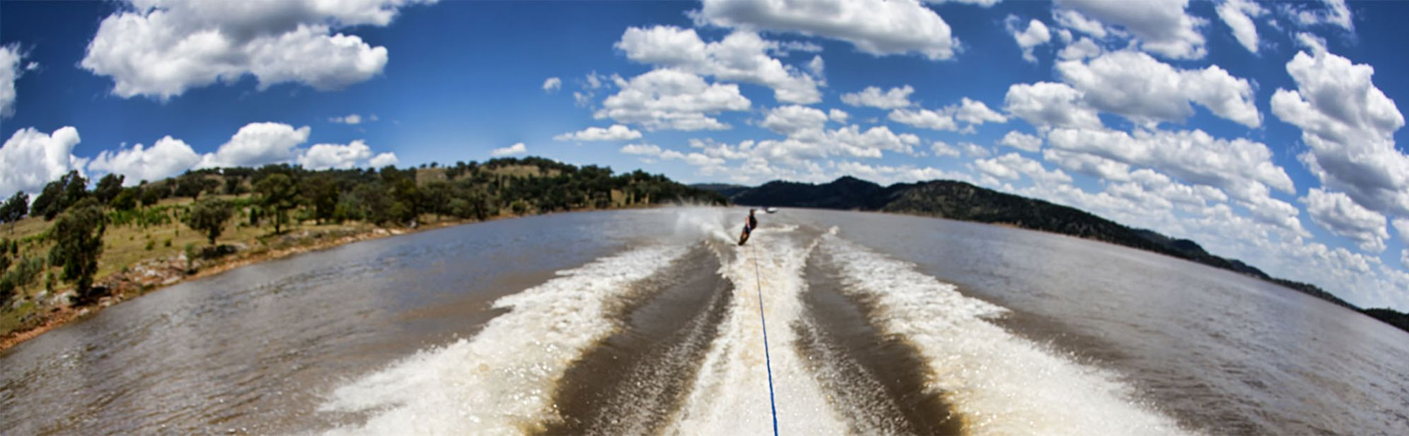 Water Skiing in Ávila