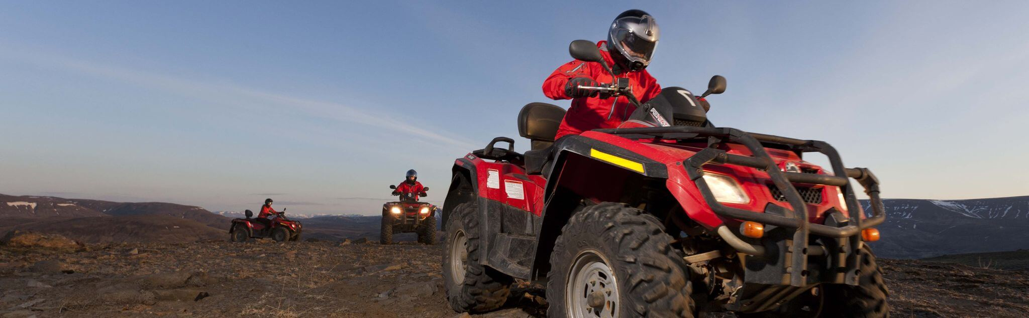 Quad Biking in Madrid (City)