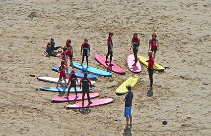Campamentos de Surf en Cádiz