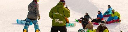 Grupo de Snowboard