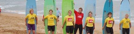 Grupo de Campamentos de Surf