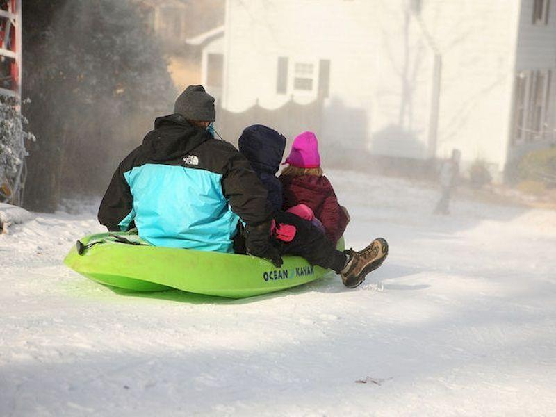 另一种在雪地里玩耍的方式