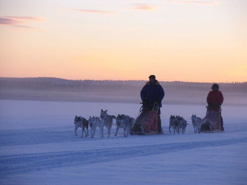 Siéntete como un habitante de Laponia