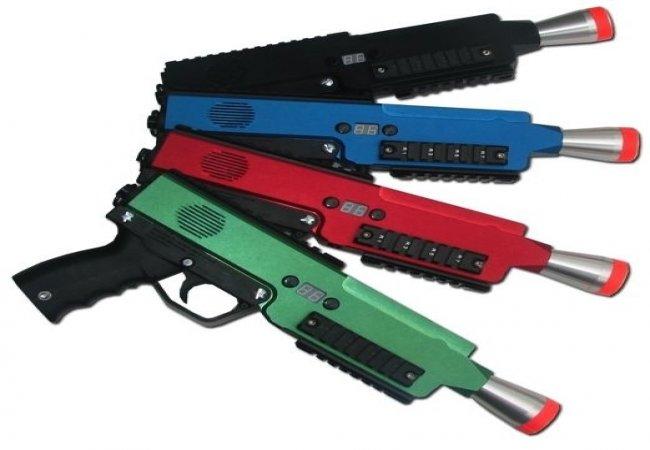 pistolas de laser tag