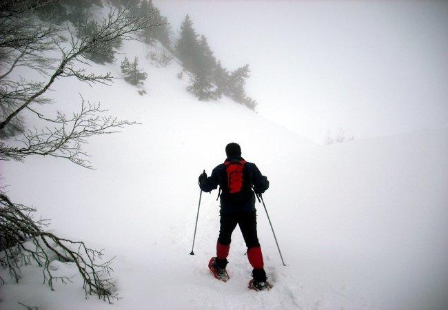 Paseo con raquetas de nieve por Belagua