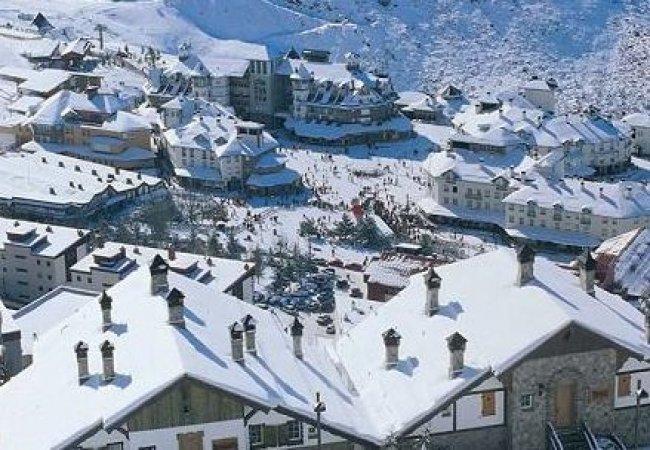 Casas nevadas