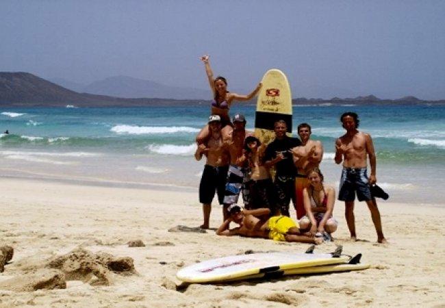 ¿campamentos de surf para niños?