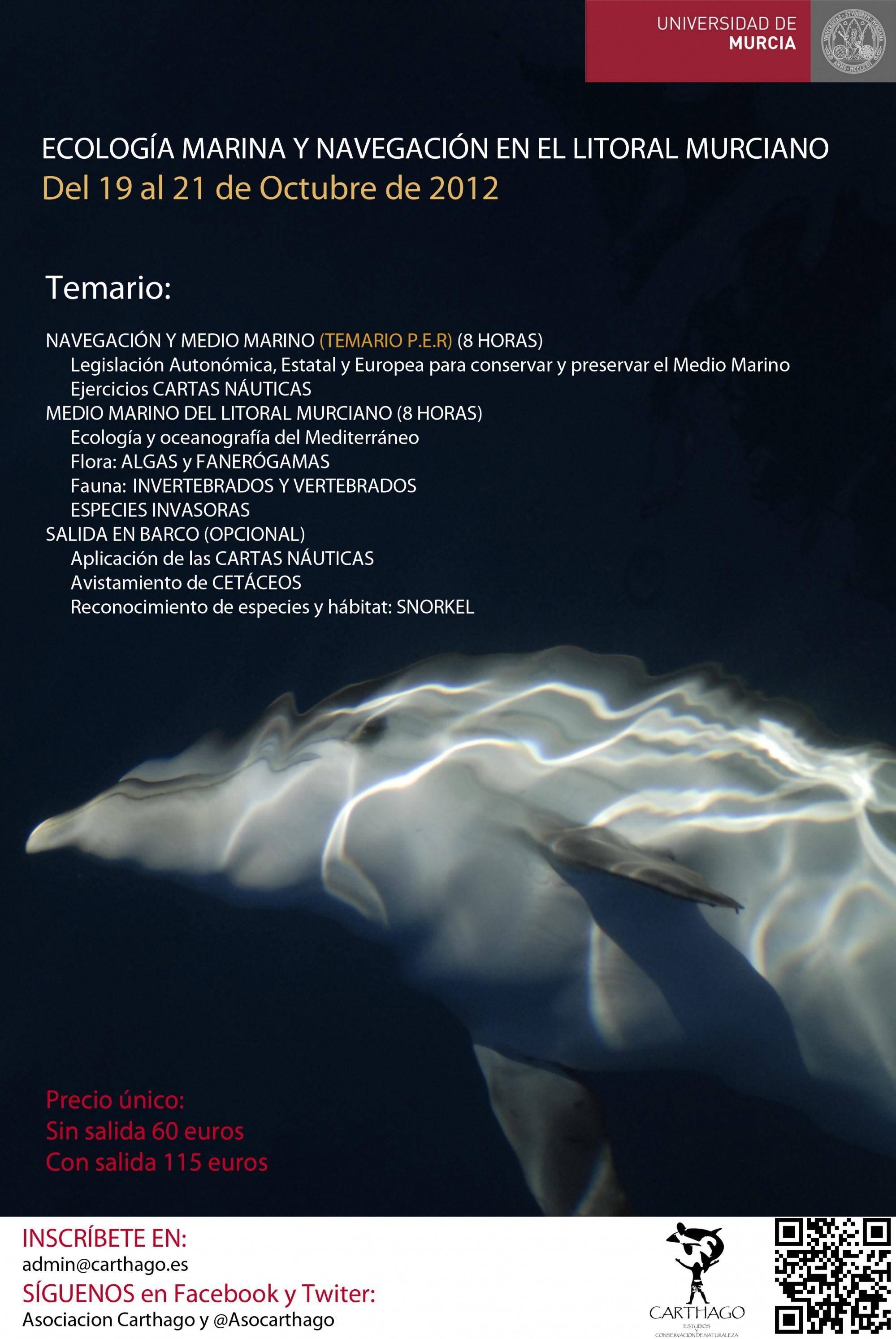 Curso teórico- práctico sobre ecología marina y navegación